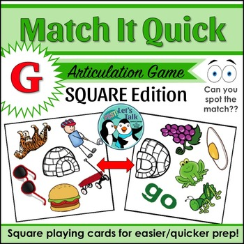 Match It Quick for G - Square Edition