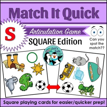Match It Quick for S - Square Edition