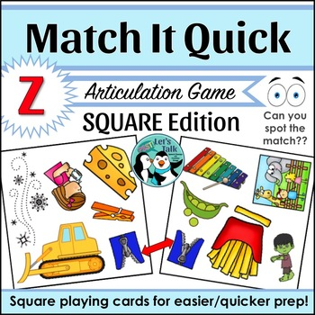 Match It Quick for Z - Square Edition
