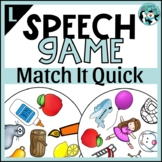 Match It Quick - /l/ and /l/ Blends Game for Speech Therapy