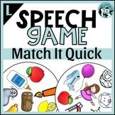 Articulation Game | L and L-Blend Match It Quick