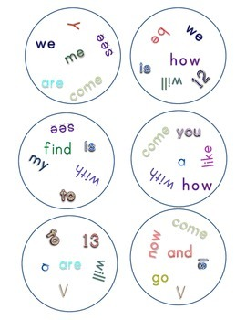 Match It! Read It! Journeys 2012 Common Core Sight Words Units 1-4