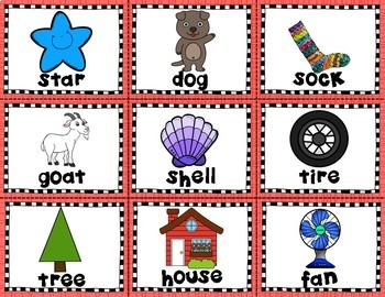 Match It: Rhyming Matching Cards and Cut & Paste