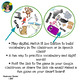 Match It Sight Word and Picture Game - Zoo Edition - Paperless, Digital