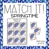 Match It! Spring Independent Work Task
