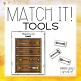 Match It! Tools Independent Work Task