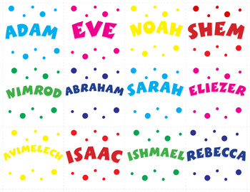 Match It (Torah Characters)