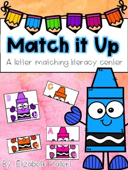 Match It Up: A letter matching center