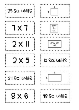 Match It Up! 10 Easy Prep Math Centers