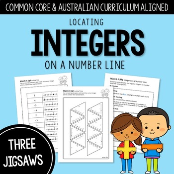 Match It Up: Locating Integers on a Number line | AUSTRALIAN CURRICULUM