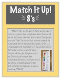 Match It Up! Multiplication 8s