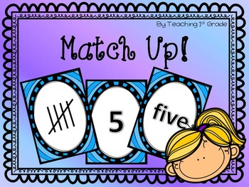 FREE- Match It Up- Number Words & Tally Marks