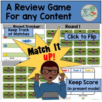 Match It Up! Review Game for Any Subject