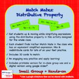 Match Mates - Distributive Property