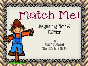 Match Me!--Beginning Sounds