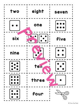 Number Sense Math Center Activity
