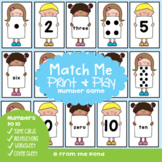 Number Sense Math Center Activity