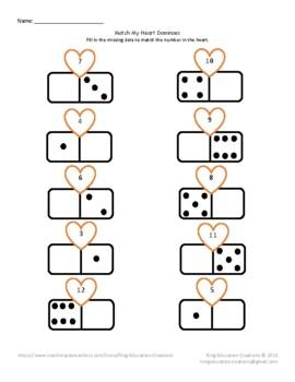 Match My Heart Dominoes