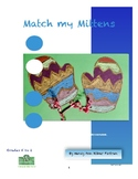 Match My Mitten Visual Arts Lesson for Kindergarten to 2nd Grade