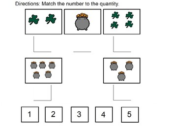 Match Number to Quantity