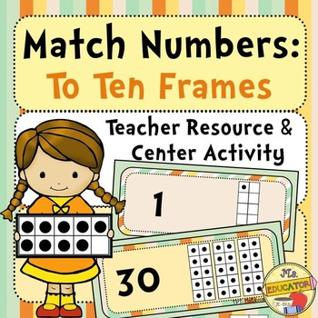 Ten Frames: Match Numbers