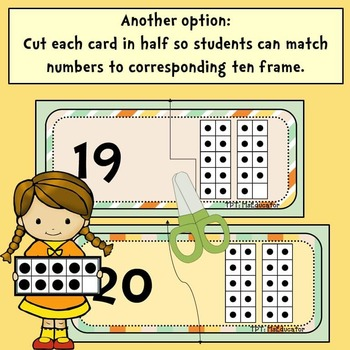 Ten Frames: Match Numbers
