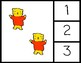 Match Numbers to Sets - Counting Activity for Math Centers