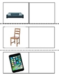 Match Picture to Word: Household Items