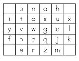 Match Scrabble tile to lowercase letter - Centre