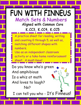 Match Sets and Numbers with Finneus