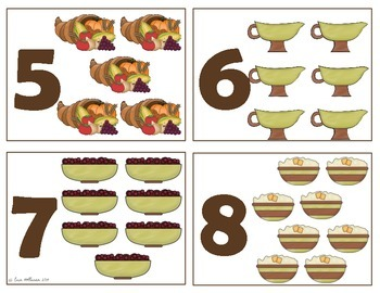 Match, Sort, and Count for Thanksgiving