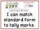 Match Standard Form and Tally Marks Task Cards