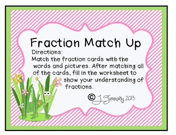 Match That Fraction