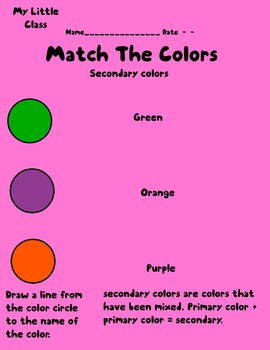 Match The Color 2