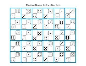 Match The Dice-Four in a Row Game B