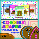 Match The Shapes With The Crunchy Cookies
