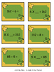 Relating Multiplication To Division Game - Match Them Up