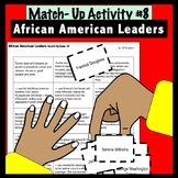 Match Up # 7 : African American Leaders
