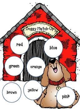 Match-Up File Folder Games for PreK, Kindergarten