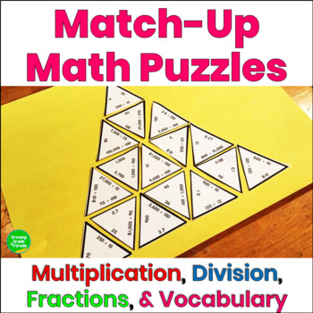 Math Puzzles Multiplication Division