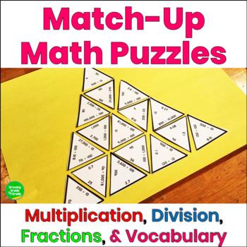 Math Puzzles Multiplication Division
