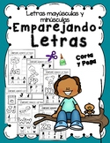 Match Upper and lower case letters in spanish- Emparejando letras