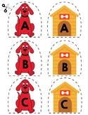 Match Uppercase Letters | Dogs & Doghouses