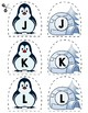 Match Uppercase Letters   Penguins & Igloos