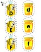 Match Uppercase to Lowercase Letters | Bees & Honey