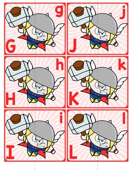 Match Uppercase to Lowercase Letters | Thor