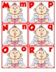 Match Uppercase to Lowercase Letters | Valentine's Day Baby Cupid