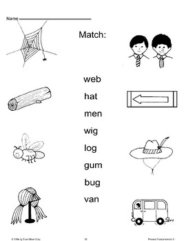Match Words and Pictures