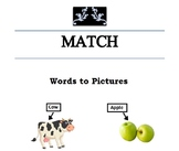 Match Words to Pictures