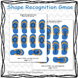 Match a flip flop - shape matching game
